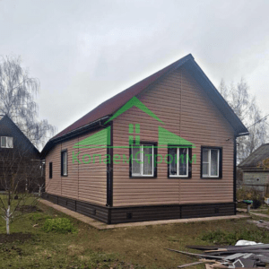 Отделка дома сайдингом в Московской области, компания