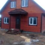 каркасный дом 8 на 9