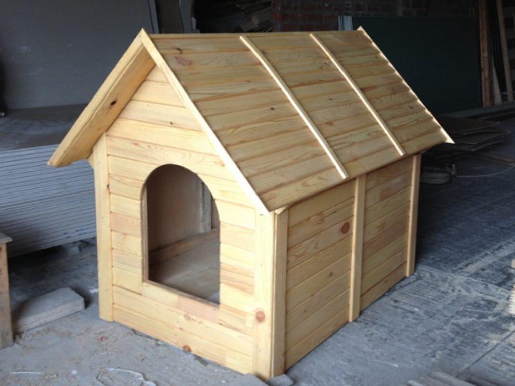 Сделать собаке домик своими руками фото